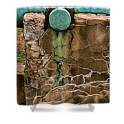 Patina One Shower Curtain