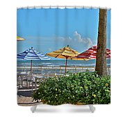 Patio Dining Shower Curtain