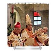 Patriarch Fouad Twal Shower Curtain