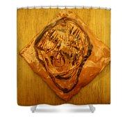 Patrick - Tile Shower Curtain