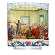 Patrick Henry, First Continental Shower Curtain
