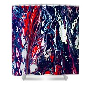 Patriot Forest Shower Curtain