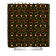 Patter 113 Shower Curtain