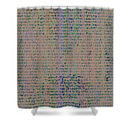 Pattern 102 Shower Curtain