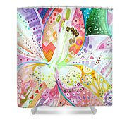 Pattern And Form II Shower Curtain