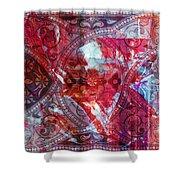 Pattern Art 015 Shower Curtain