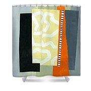 Pattern Grid # 16 Shower Curtain