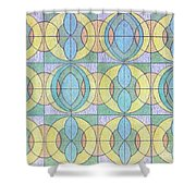 Pattern Of Serenity Shower Curtain