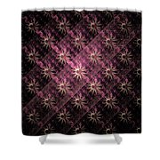 Pattern Of Stars Shower Curtain