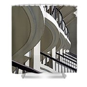 Patterned Balconies Shower Curtain