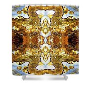 Patterns In Stone - 146b Shower Curtain