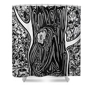 Patterns Of Autumn Shower Curtain