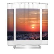 Patterns Of Sunset Shower Curtain