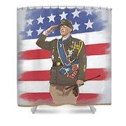 Patton Shower Curtain