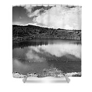 Pau-pique Lake Shower Curtain