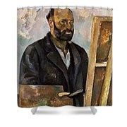 Paul Cezanne (1839-1906) Shower Curtain