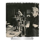 Paul Ehrlich, German Immunologist Shower Curtain by Photo Researchers