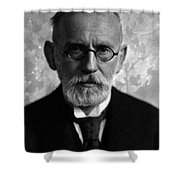 Paul Ehrlich, German Immunologist Shower Curtain by Science Source