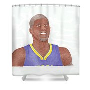 Paul George Shower Curtain