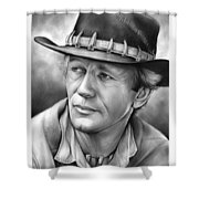 Paul Hogan Shower Curtain