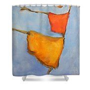 paul klee Painting, Scarecrows  Shower Curtain
