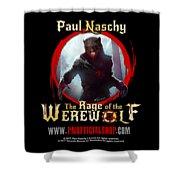 Paul Naschy - The Legacy - Logo 2 Shower Curtain