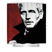 Paul Newman Shower Curtain