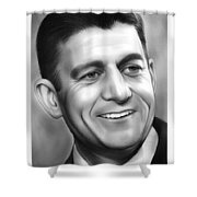 Paul Ryan Shower Curtain