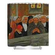Paul Serusier 1864 - 1927 Devotion To S. Herbot Forgiveness Shower Curtain