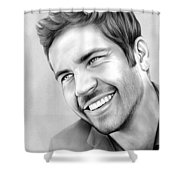 Paul Walker Shower Curtain