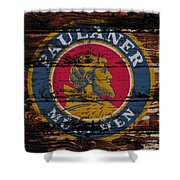Paulaner Beer Sign 1a Shower Curtain