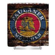 Paulaner Beer Sign  Shower Curtain