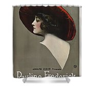 Pauline Frederick In Paid In Full 1919 Shower Curtain