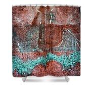 Paul's Floor Shower Curtain