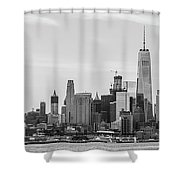 Paulus Hook Shower Curtain