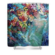 Pavetrulya - The Daughter Of The Forest King Shower Curtain