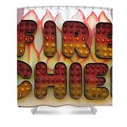 Pavilion Fire Chief Shower Curtain