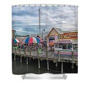 Pavilion Nostalgia Park Shower Curtain