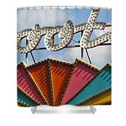 Pavilion Skooter Shower Curtain