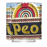 Pavilion Wipeout Shower Curtain