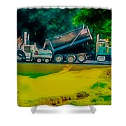 Paving Crew 2 Shower Curtain