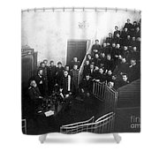 Pavlov In Lecture Theater, 1904 Shower Curtain