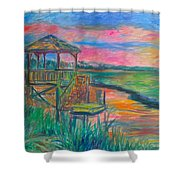 Pawleys Island Atmosphere Stage One Shower Curtain