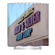 Pawn Stars Shop - Las Vegas Nevada Shower Curtain