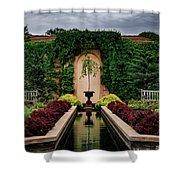 Payne Fountain Shower Curtain