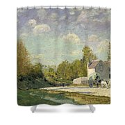 Paysage Shower Curtain by Alfred Sisley