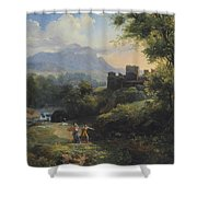Paysage Arcadien Shower Curtain