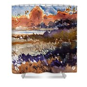 Paysage Cci Shower Curtain