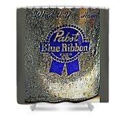 Pbr  Bucket O Beer  Shower Curtain