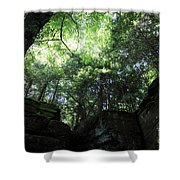 Peace All Around Shower Curtain